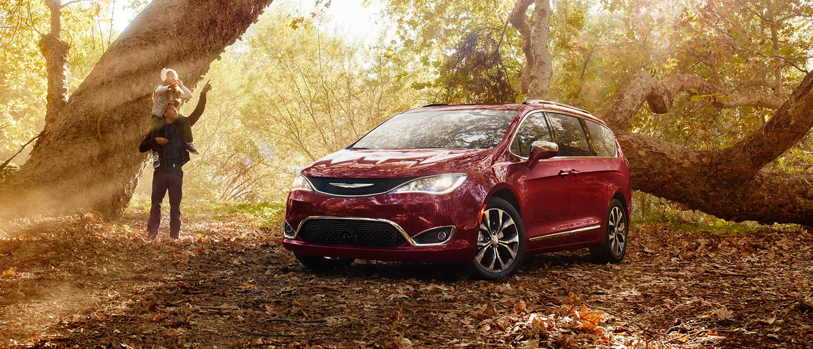 Red Pacifica Exterior Forest